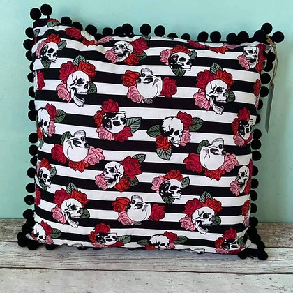 Skulls and Stripes Cushion TSB