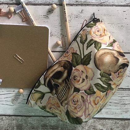 Floral Skull Bag