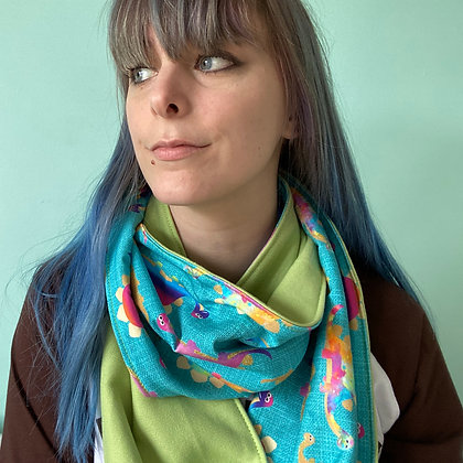 Rainbow Dinosuar Snood TSB