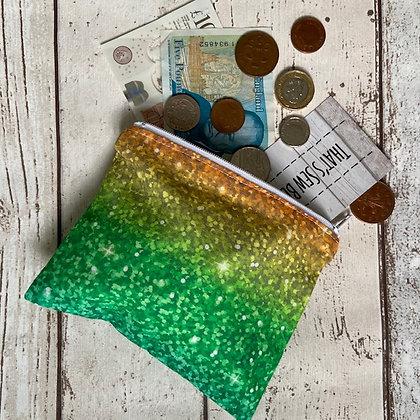 Green Glitter Purse TSB