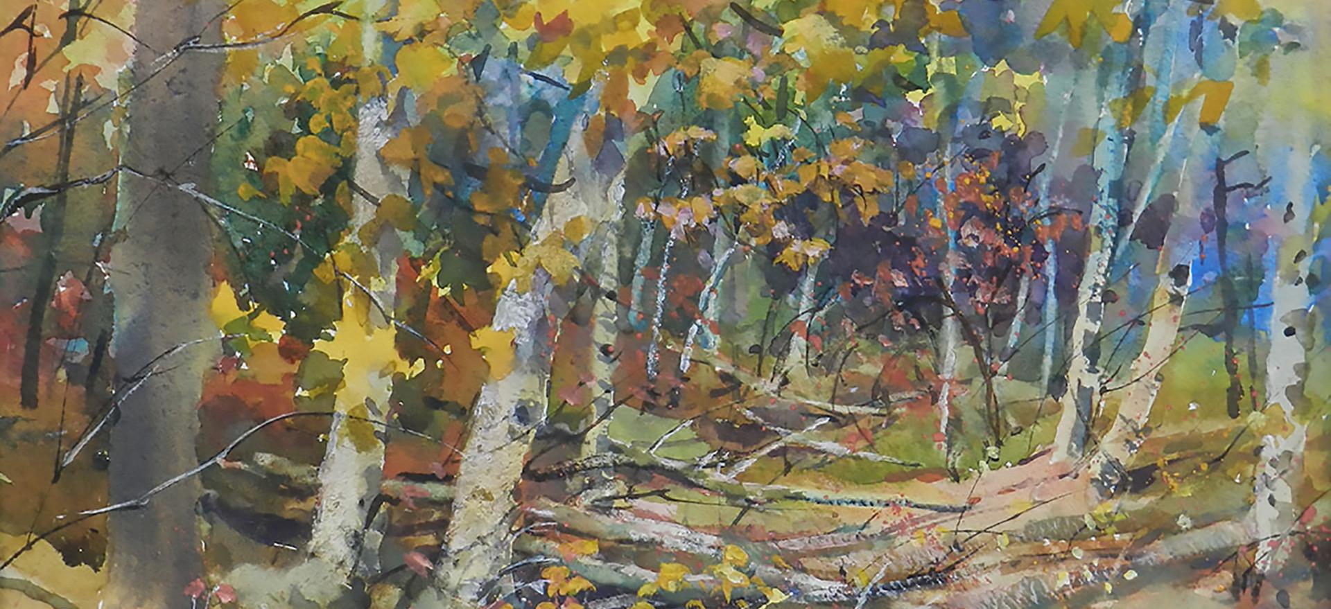 4. Autumn Birch