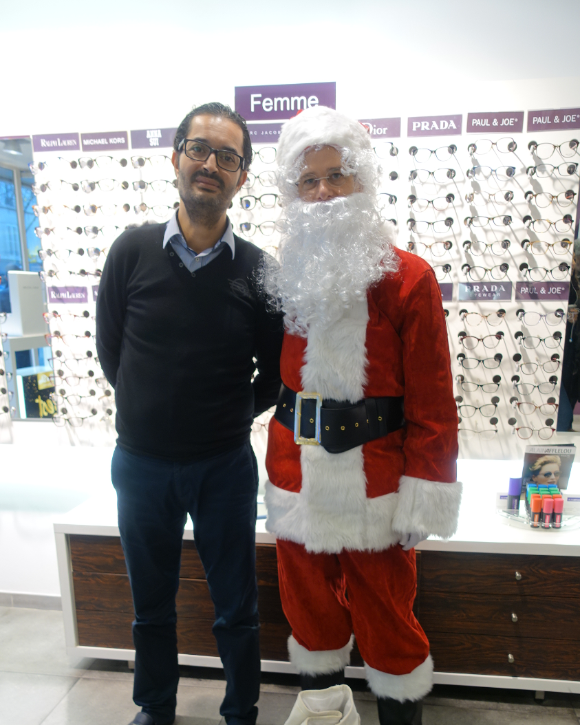 Père Noël chez Afflelou - 102 rue Ordener