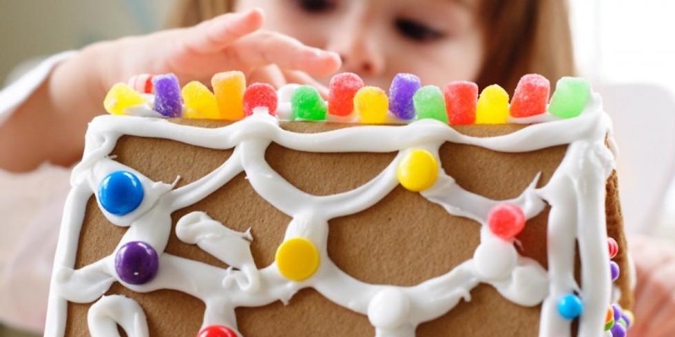 Children's Class - Gingerbread House