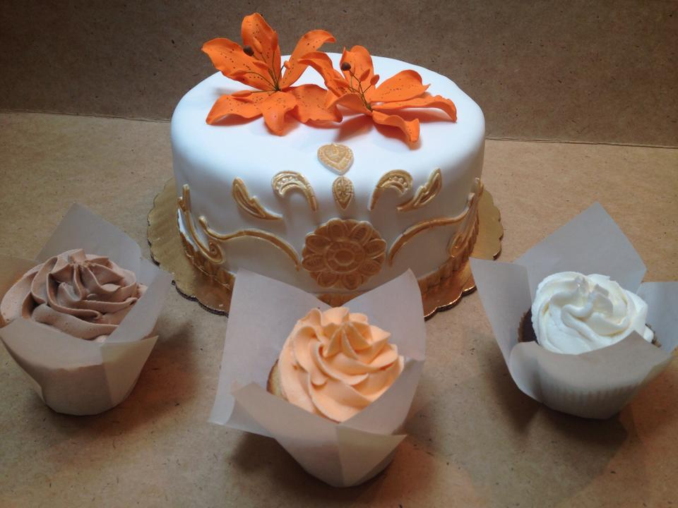 Tiger Lilly Inspired Cake