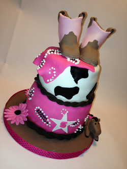 Cow Girl Cake