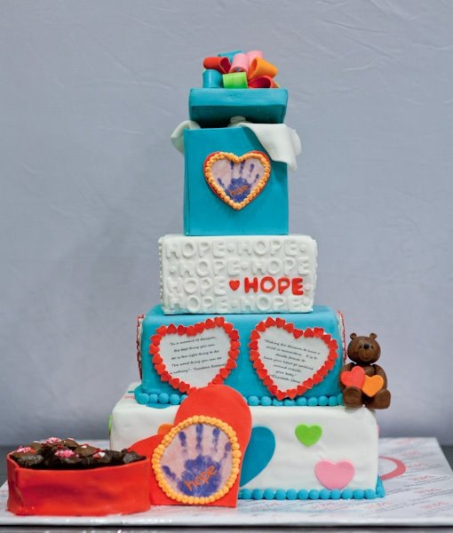 Ryan's Quest Charity Cake