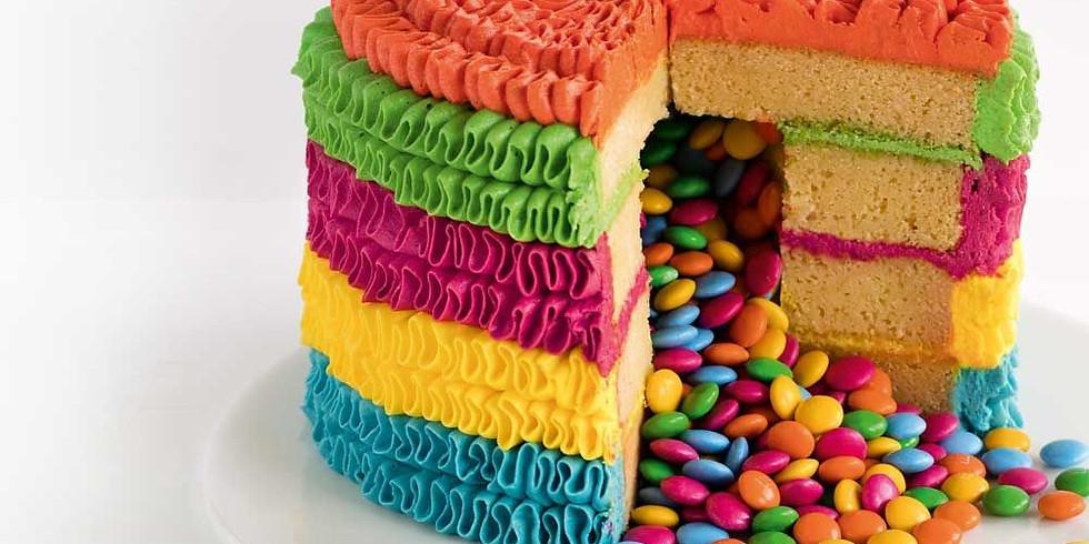 CANCELLED Baking Camp - piñata cakes