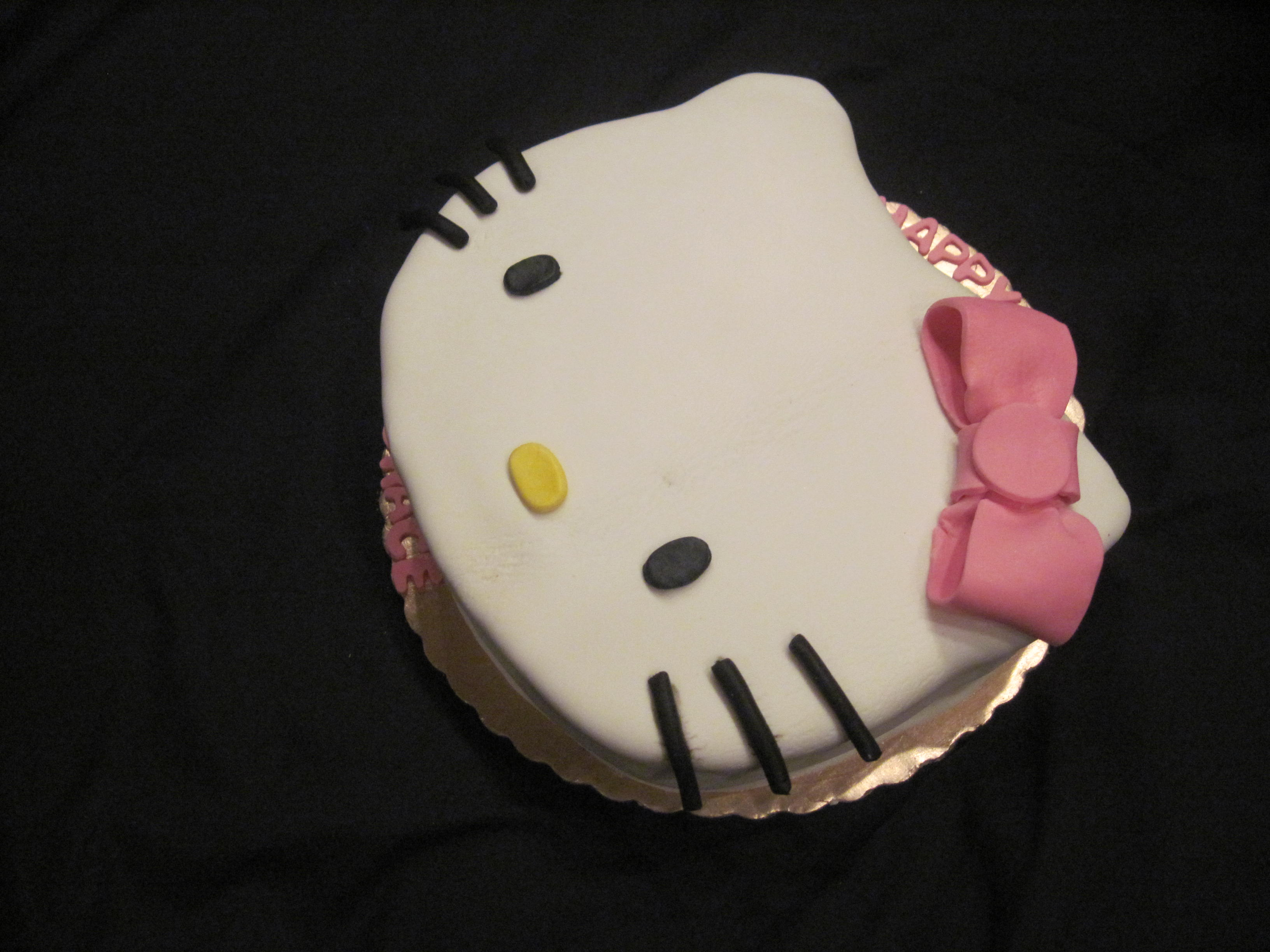 Hello Kitty Custom Cake