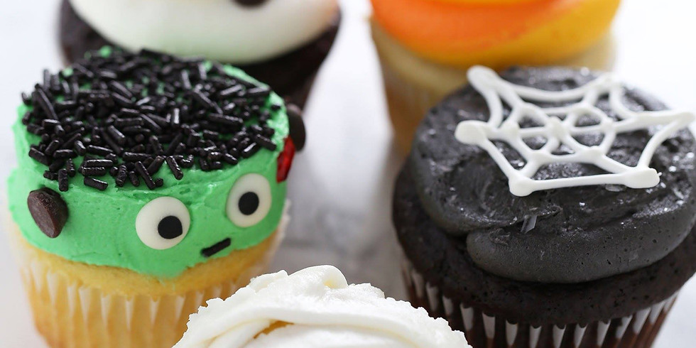 Girl's Night Out Halloween Cupcakes
