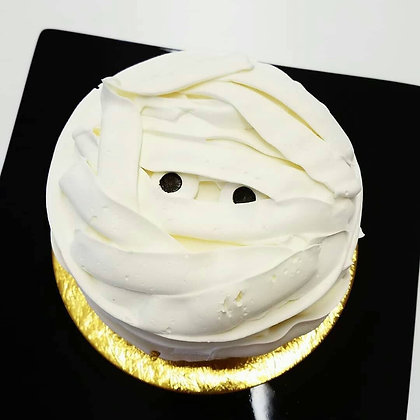8 inch Mummy Cake available for pick up beginning 10/25