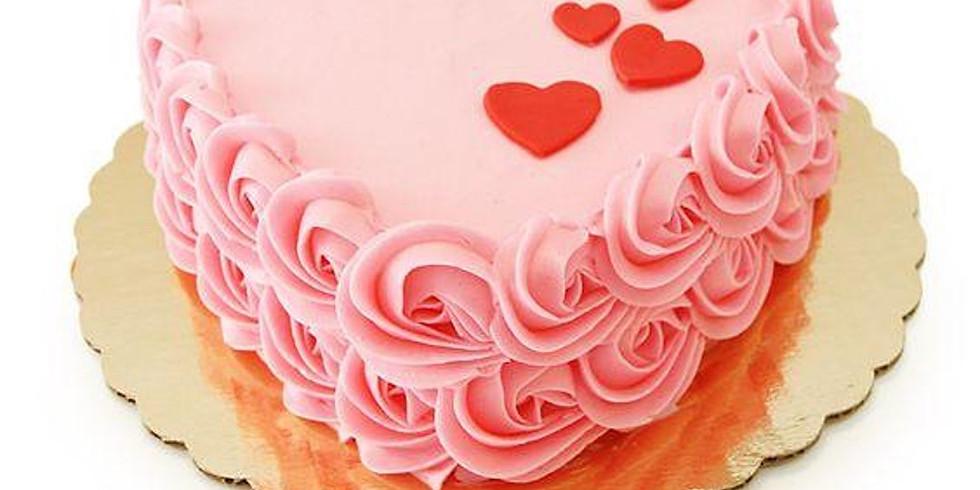 Valentines Cake decorating - Adult Class