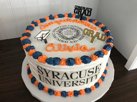 8 inch Graduation Cake