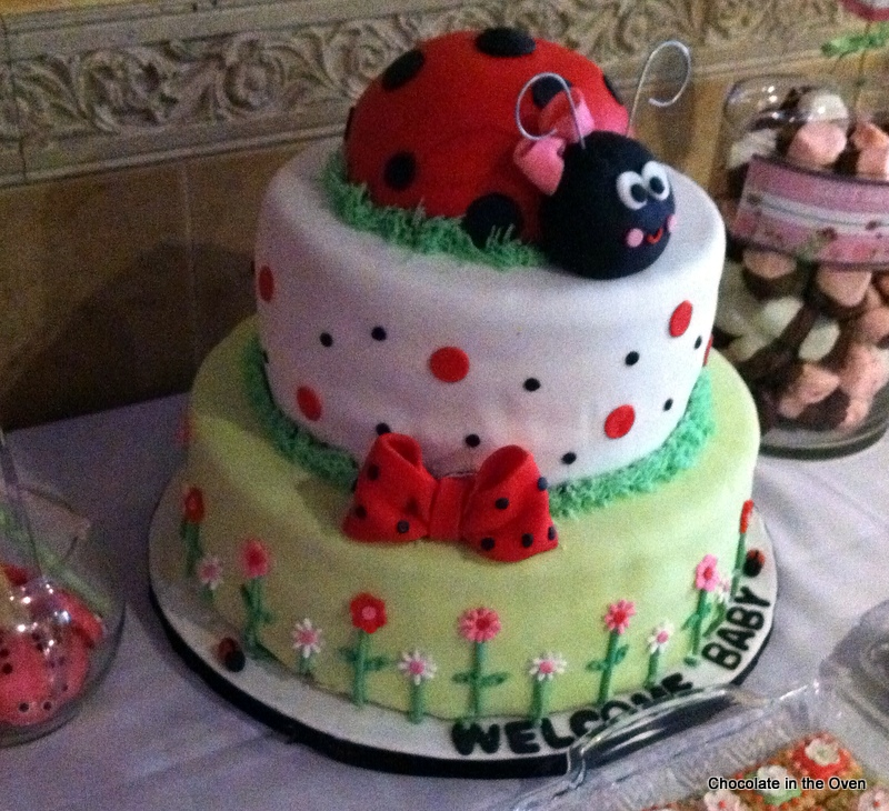 Ladybug sweet's table