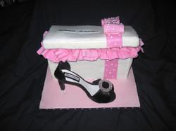 Fashionista Shoe Cake