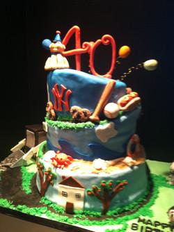 Path of life cake