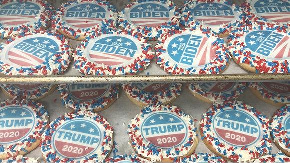 Election Poll cookies Mix - 6 Biden 6 Trump