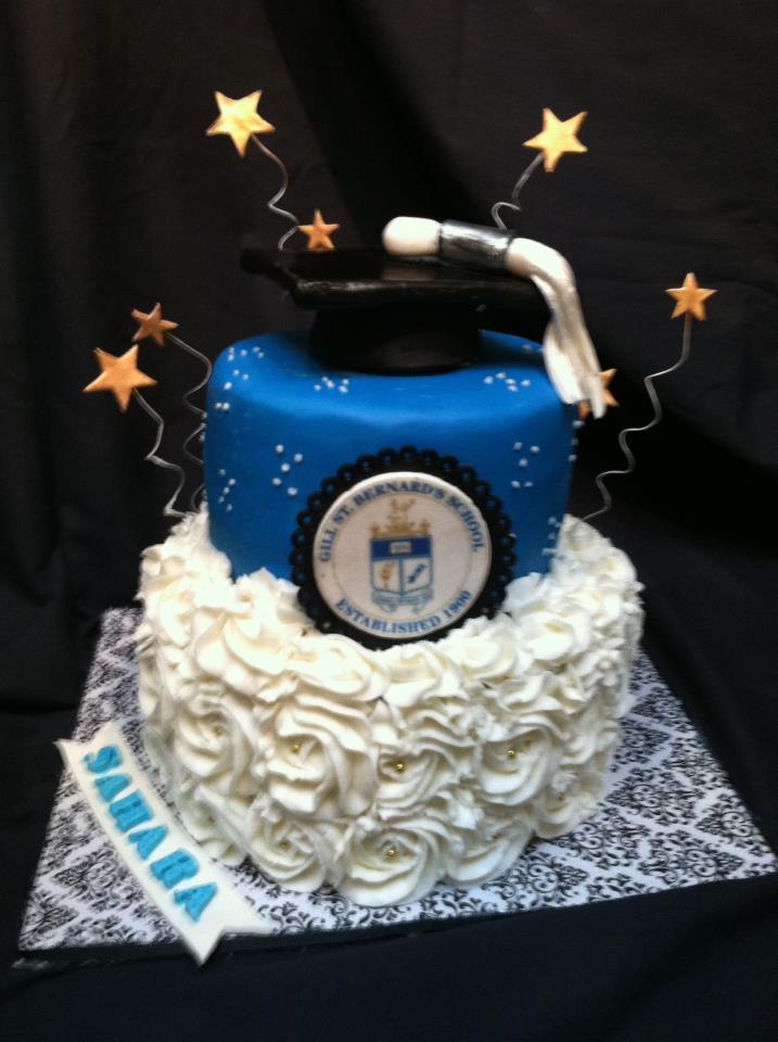 Gill St Banard Graduation Cake NJ