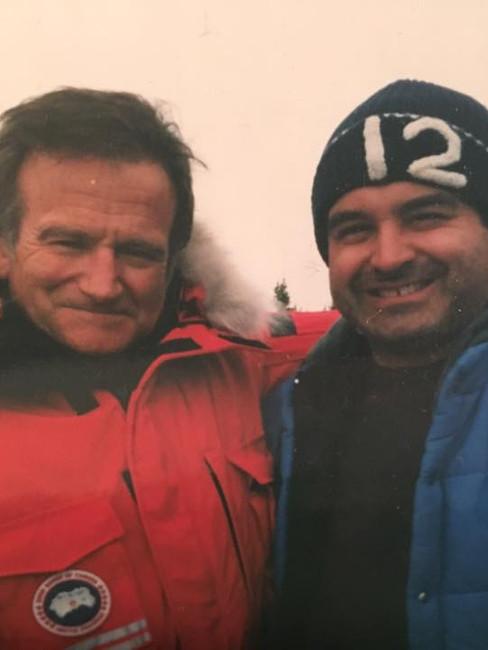In Alaska with Robin Williams