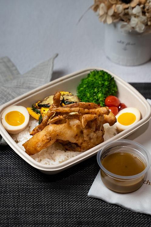 泰式咖哩螃蟹餐盒