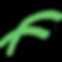 Logo - Project Flyway F - Transparent Gr