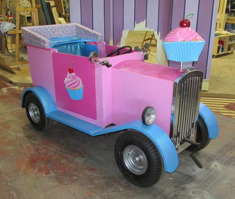 Cupcake themed car- refurbished
