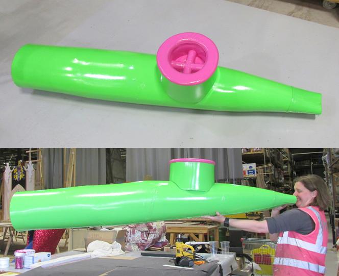 Oversized Kazoo for panto