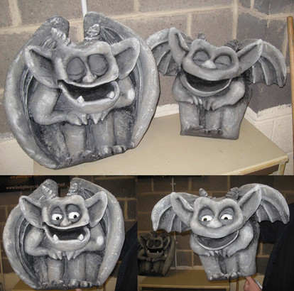 Gargoyle Puppets for Babes in the Wood