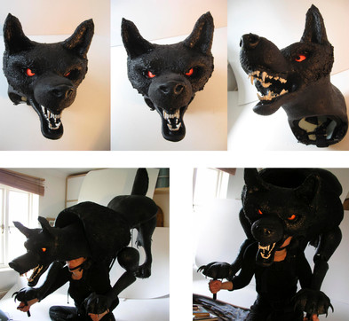 Hound Puppet for The Hound of the Baskervilles