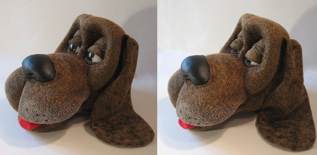Dog Head Puppet- to be made animatronic