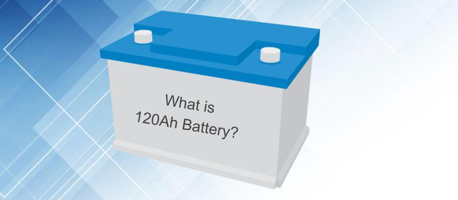 What is a 120Ah battery?
