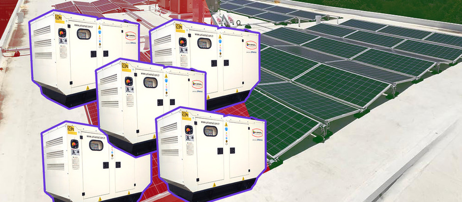 Synchronizing Five DG SET with One (2.5MW) PV Plant