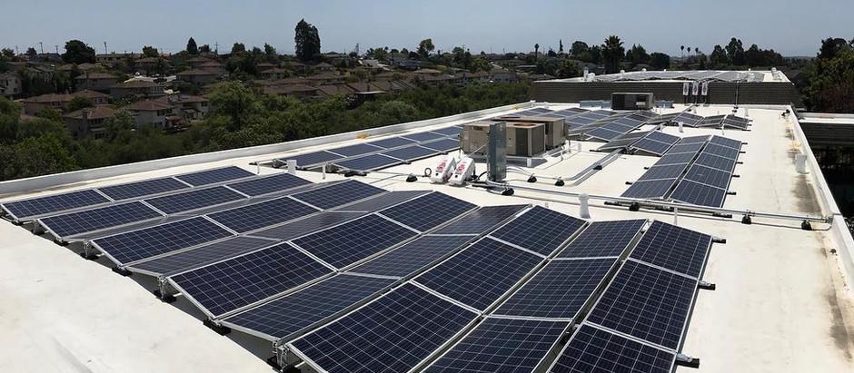 Solar Power Plant with Generator backup
