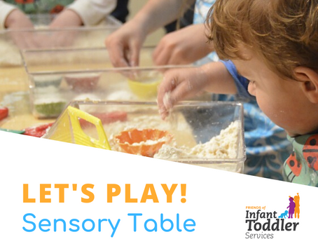 Let's Play! Sensory Table