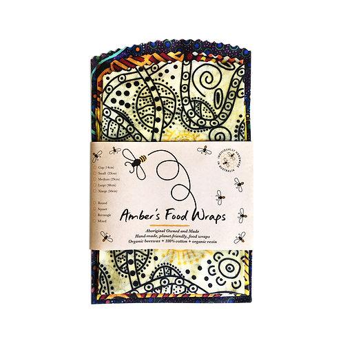Amber's Food Wraps 3 x Large 38cm (sandwich size)