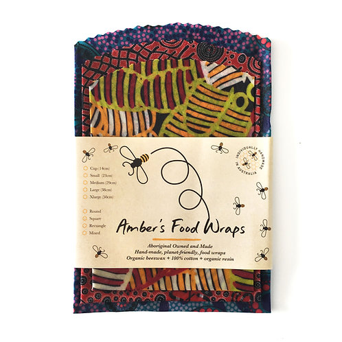 Amber's Food Wraps  (3 pack)
