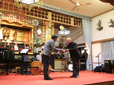 邑楽町大信寺・第10回テラシックコンサート
