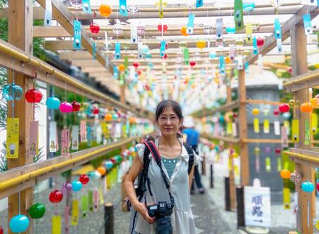 出張女性カメラマン・宝徳寺のふうりん祈願へ行ってきました。