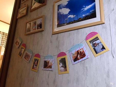 出張女性カメラマン・家にそらの写真を飾ってみた(^^)