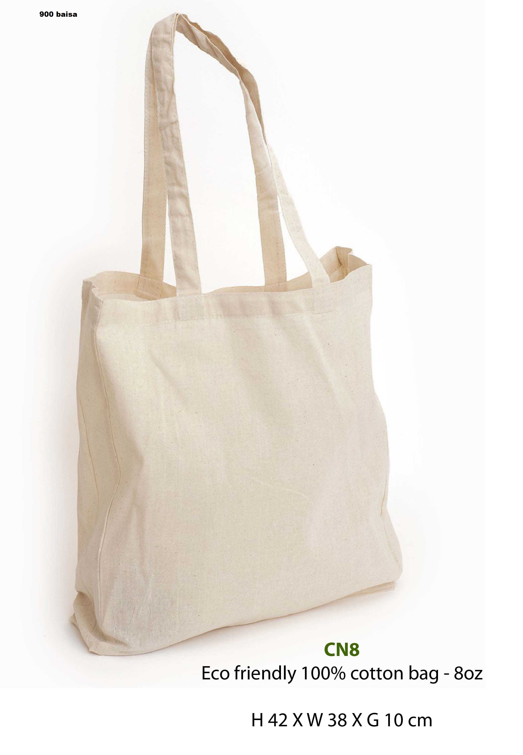 Eco friendly 100% cotton bag