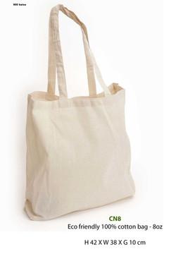 Eco friendly 100% cotton bag