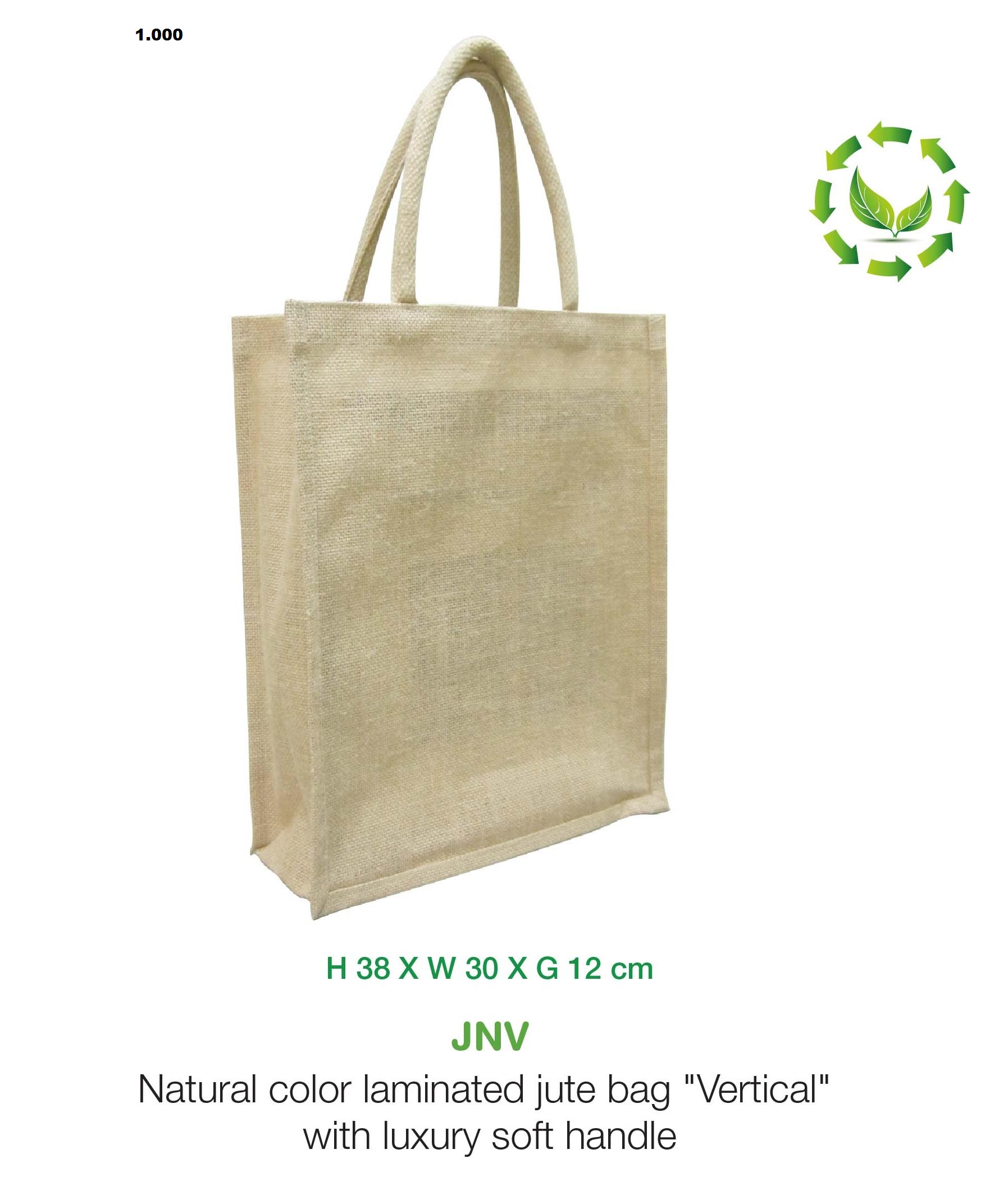 Vertical Jute Bag