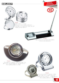 Clock with Pen stand - 2