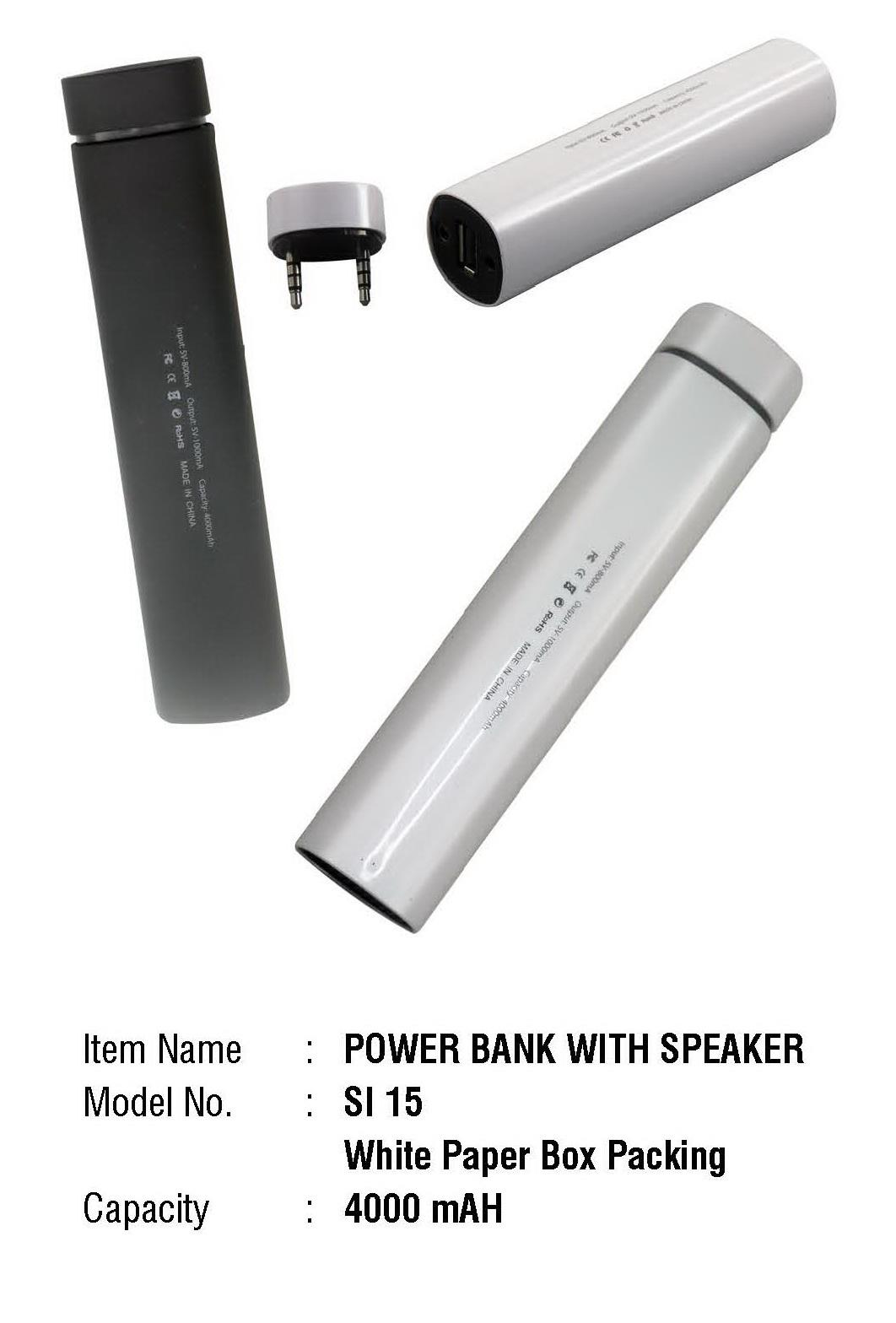 Power Bank 4000 mAh