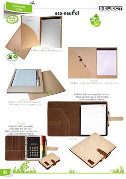 Eco Friendly note pad set