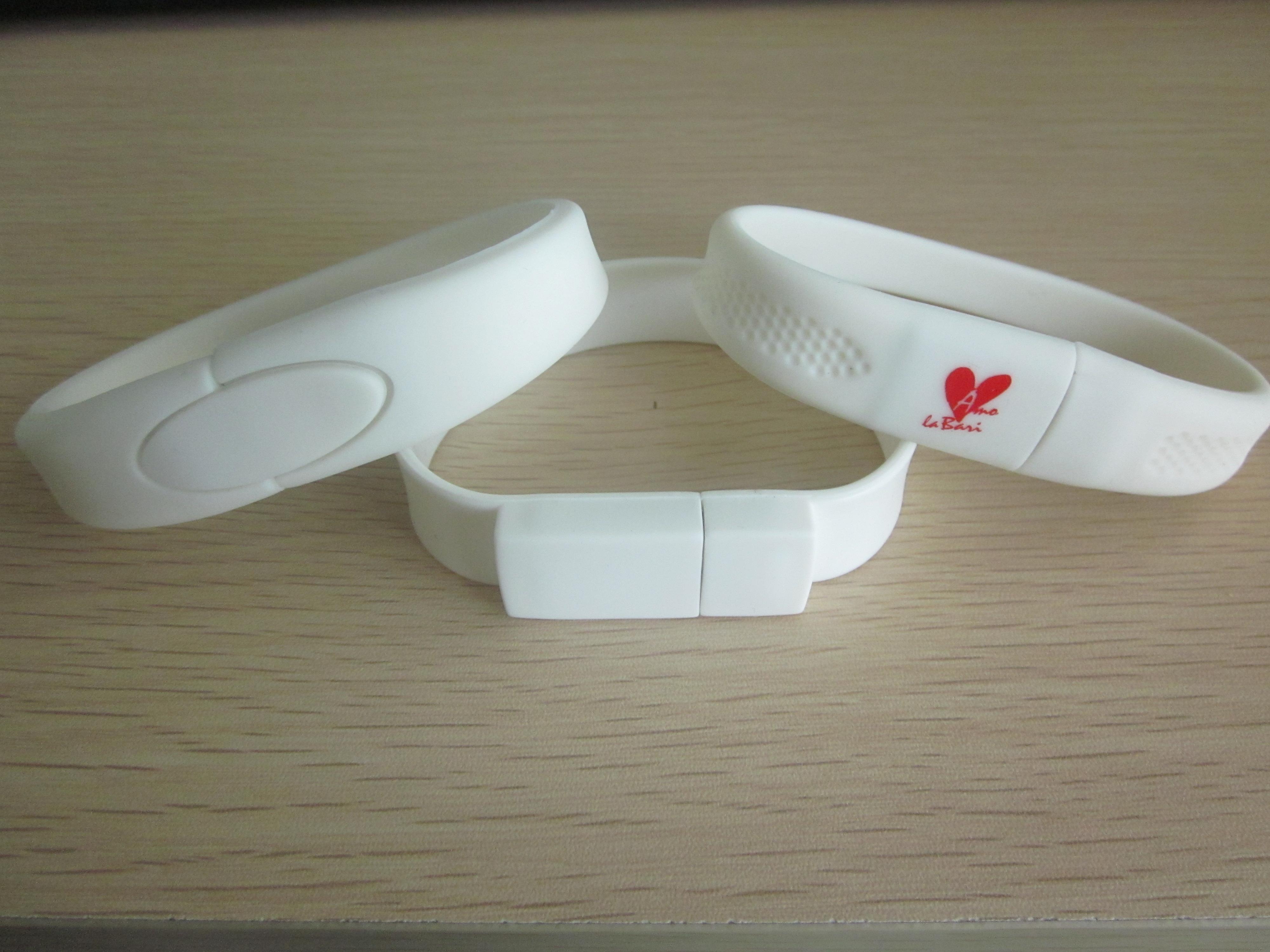 Silicon Wristband USB