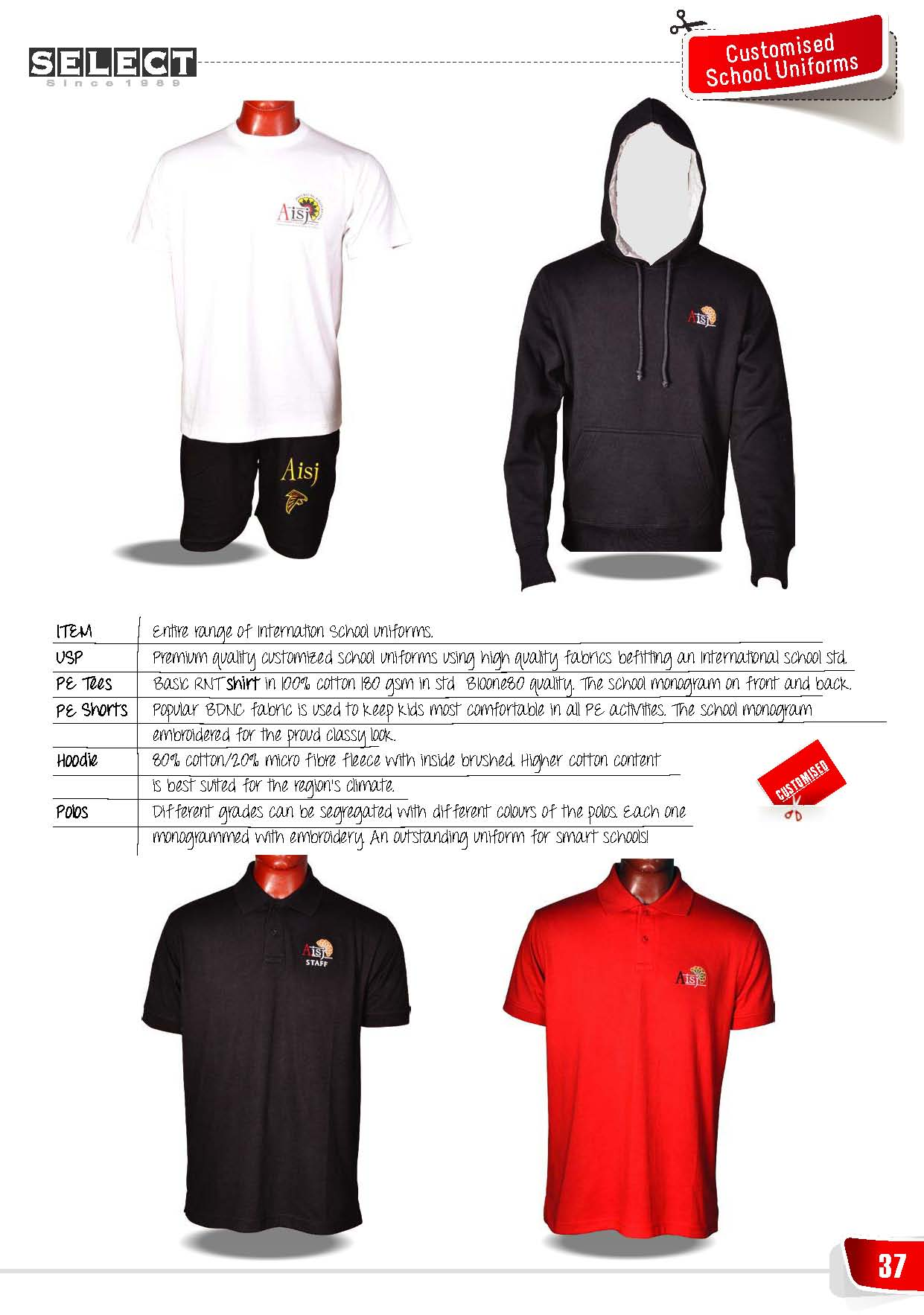 Jackets and Sports wear