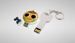 USB with personalised cover