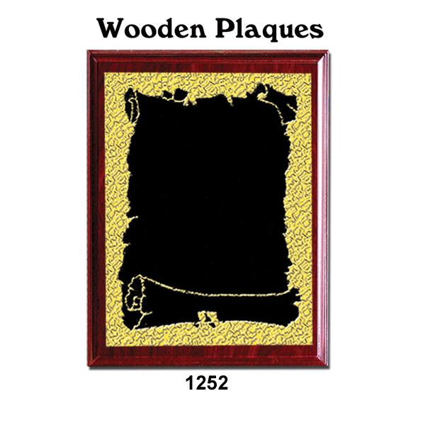 Rectangular Wooden Plaque