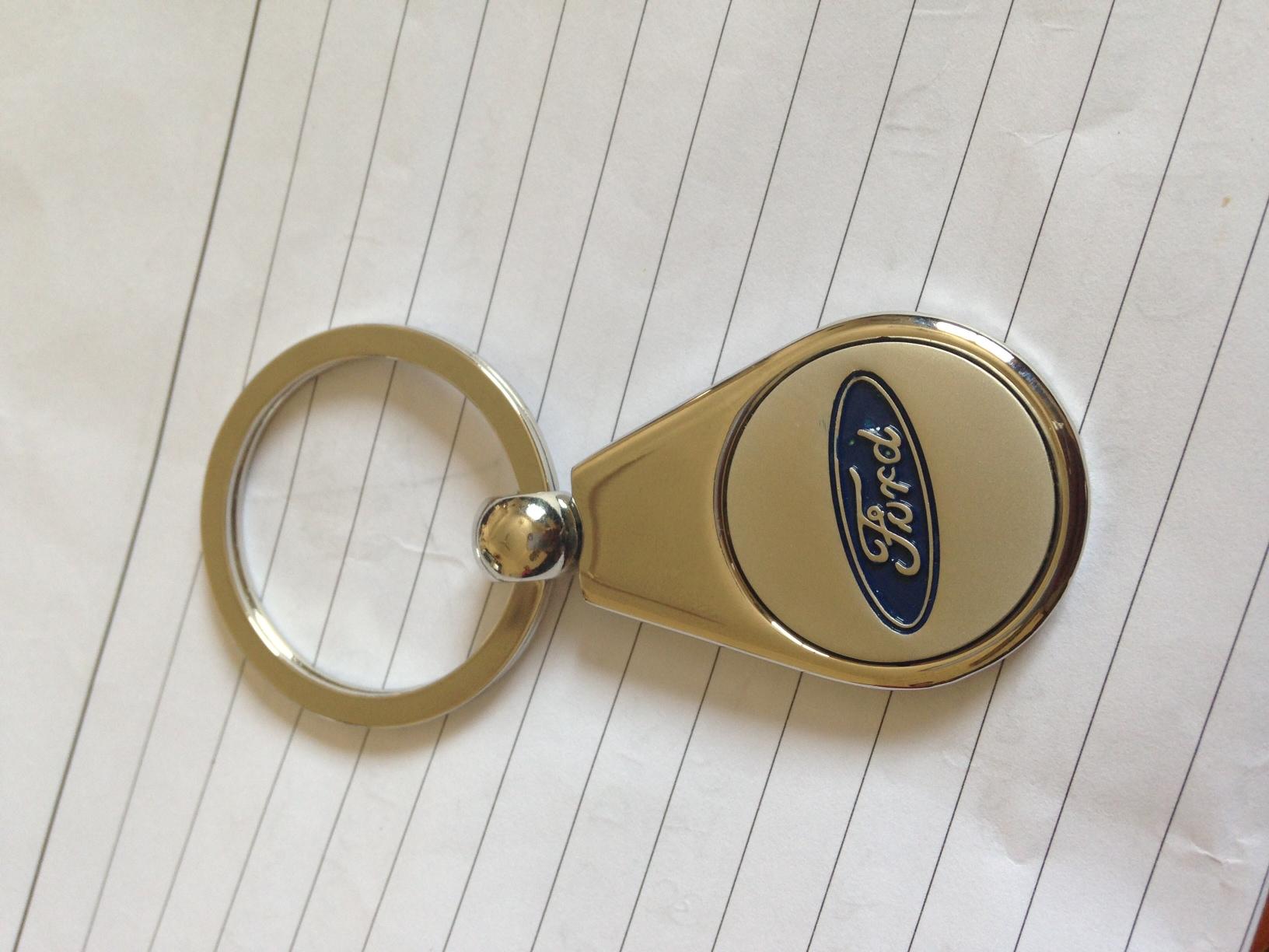 Ford Metal Keychain