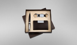 Card, Holder Pen & Keychain Set